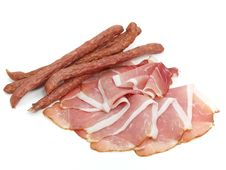 Free Smoked Coldcuts Royalty Free Stock Photography - 10214287