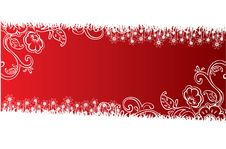 Free Floral Banner Royalty Free Stock Photography - 10214387
