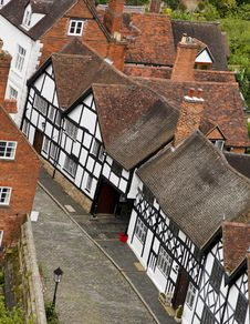 Free Warwick Old Houses Stock Image - 10214581