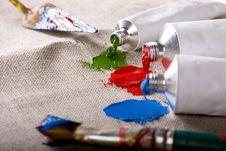 Free Paint Tubes Stock Photos - 10214923