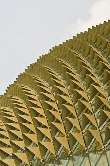 Unique Abstract Roof Design Stock Images