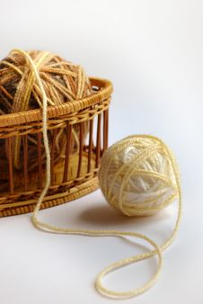 Free Yarn Balls Royalty Free Stock Photography - 10216047