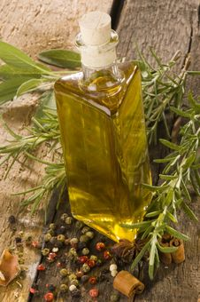 Free Olive Oil Royalty Free Stock Photography - 10216117