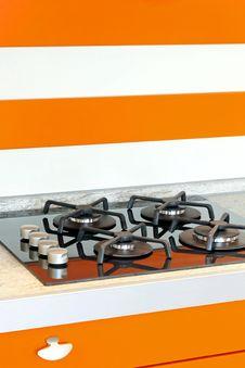 Free Orange Stove Royalty Free Stock Images - 10216689