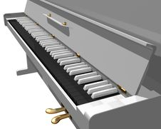 Free White Piano Royalty Free Stock Images - 10216919