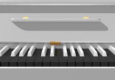 Free White Piano Stock Image - 10216931