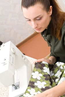 Free Hand Sewing Stock Photography - 10217072
