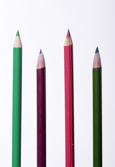 Free Some Coloring Pencils. Royalty Free Stock Photo - 10218565