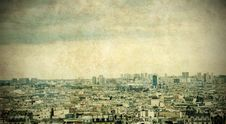 Free Paris Skyline Royalty Free Stock Photo - 10218835
