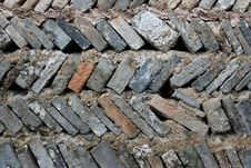 Free Old Brick Wall Royalty Free Stock Images - 10219979