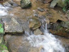 Free Zipline Waterfall Royalty Free Stock Image - 10220056