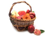 Free Bascket Of Fruits Royalty Free Stock Photos - 10220538