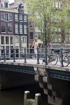 Free Amsterdam Canals Stock Photography - 10220672