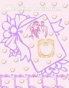 Free Wedding Invitation Stock Image - 10220831