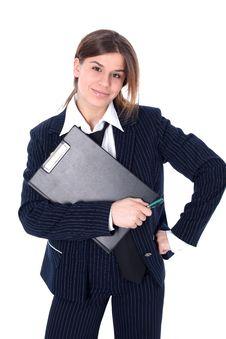 Free Friendly Businesswoman Royalty Free Stock Photo - 10222285