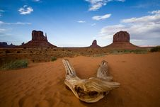 Free Landscape In Monument Valley Royalty Free Stock Photo - 10223075