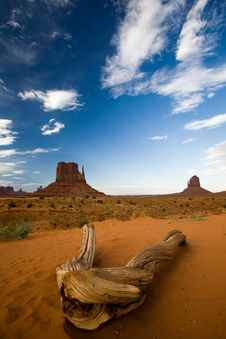 Free Landscape In Monument Valley Royalty Free Stock Photography - 10223077
