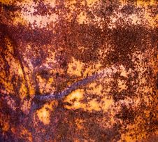 Free Warm Rusty Surface Metal Royalty Free Stock Photos - 10223748