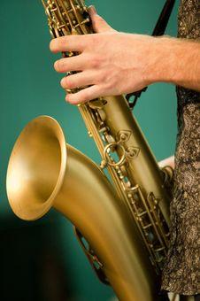 Free Saxophone Music Royalty Free Stock Photography - 10223797