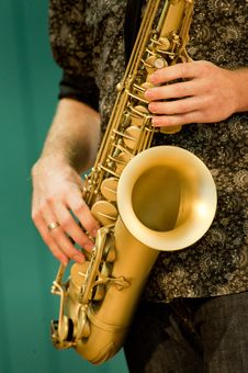 Free Saxophone Music Stock Photo - 10223850