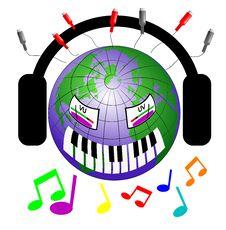 Free Music Worldwide Stock Photography - 10223952