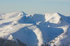 Free Winter Mountains Royalty Free Stock Photography - 10224077