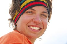 Hiker Girl Royalty Free Stock Image