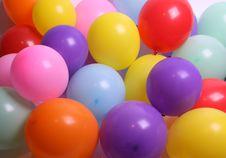 Free Balloons As A Background Stock Photos - 10224463