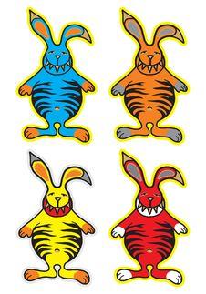 Monster Rabbit Stock Photography