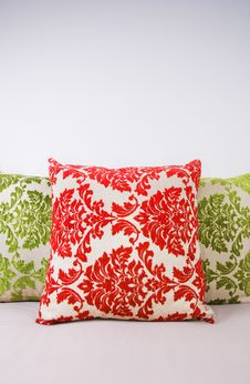 Free Red And Green Cushions Royalty Free Stock Photography - 10225067