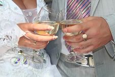 Free Wedding Glass Royalty Free Stock Photography - 10225597