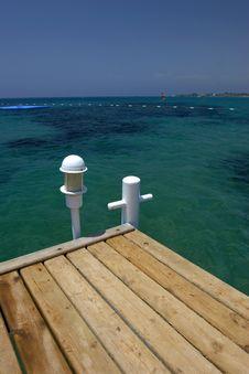 Free Wooden Pier On Sea Royalty Free Stock Photos - 10225678