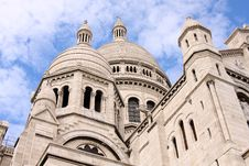 Free Cupolas Of Sacre-Coeur Royalty Free Stock Photo - 10226015