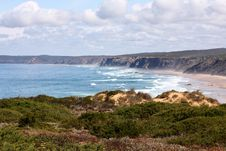 Free Shore In Portugal Royalty Free Stock Image - 10226076