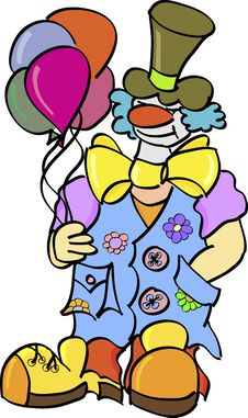 Free Clown Stock Images - 10227014