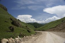 The North Caucasus. Royalty Free Stock Image