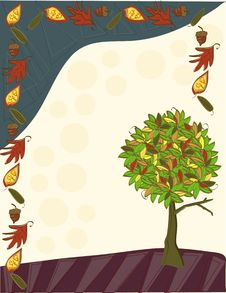 Free Autumn Background Royalty Free Stock Images - 10227309