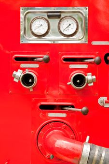 Free Parts Of Fire Engine Royalty Free Stock Photos - 10228168