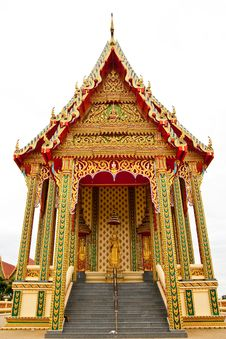 Free Traditional Thai Style Architecture Royalty Free Stock Image - 10228626