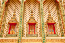 Free Traditional Thai Style Architecture Royalty Free Stock Photo - 10228835