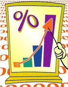 Growing Percents Chart