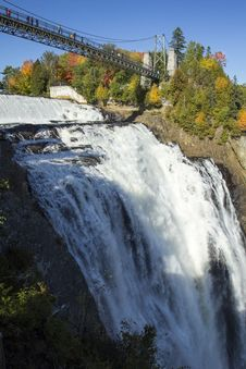 Free Montmorency Falls, Quebec, Canada Royalty Free Stock Image - 102225976