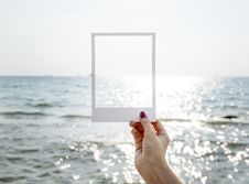 Free Frame, Hand, Location, Ocean Stock Images - 102226054