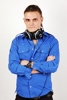 Music DJ Royalty Free Stock Image