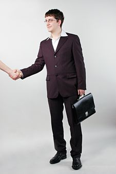 Free Businessman Shake Hands Royalty Free Stock Image - 10230996
