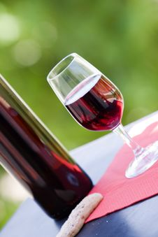 Free Wine At Table Stock Images - 10231214