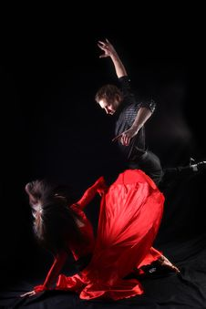 Free Dancers In Action Stock Photography - 10231482