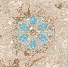 Free Antique Ottoman Grungy Wallpaper Raster Design Royalty Free Stock Image - 10231646