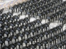 Free Black Chairs. Royalty Free Stock Photo - 10232605