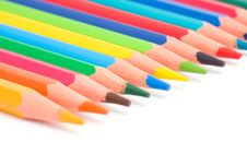 Free Color Pencils Stock Photography - 10232772